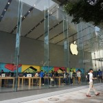 話題のApple Store表参道に行ってきました