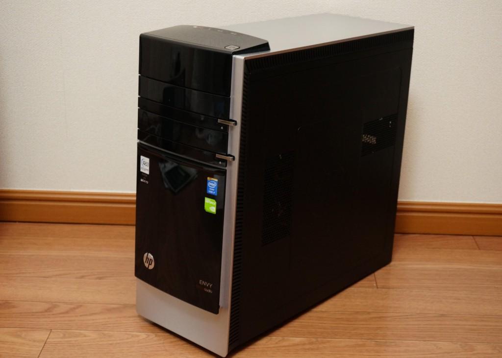 デスクトップパソコンHP ENVY 700-260jp/CTレビュー(前編)